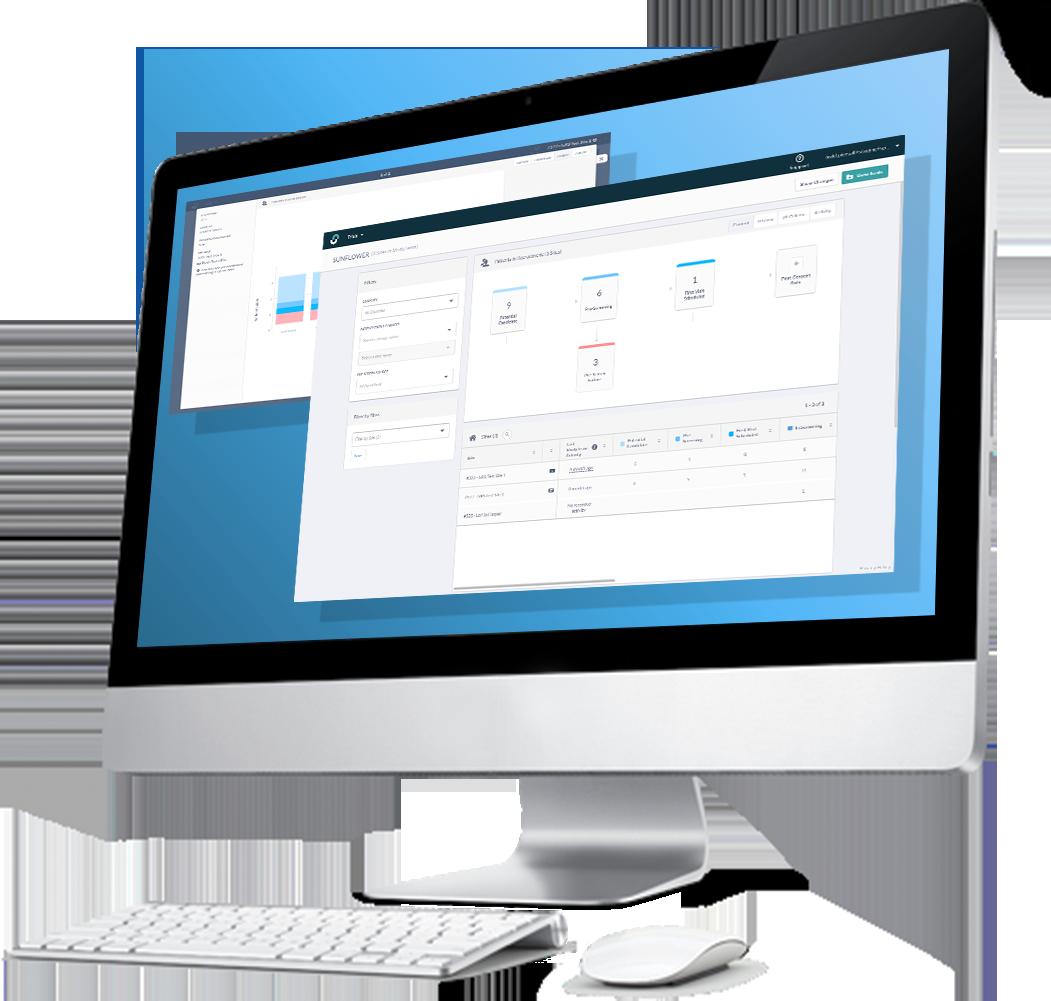 Sponsor dashboard in monitor